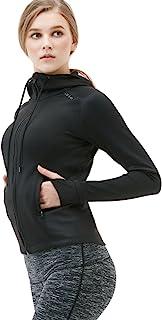 Tesla Women's Lightweight Active Performance Full-Zip Hoodie Jacket FKJ04/FKJ02