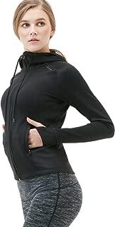 Women's Yoga Lightweight Active Performance Full-Zip Jacket