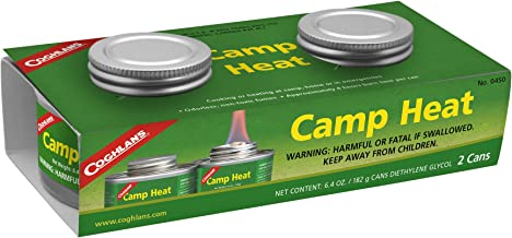 Coghlan's 450 Camp Heat, 2 Pack, One Size, Multi