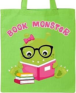 Inktastic Book Monster Girl Tote Bag