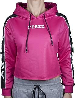 Felpa con cappuccio donna Pyrex rosa pastello