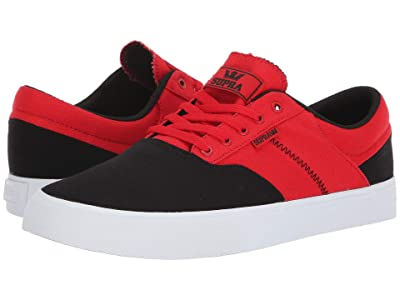 Supra Cobalt (Black/Risk Red/White) Men