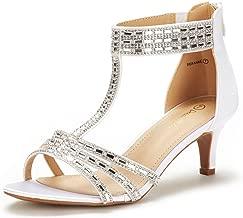 DREAM PAIRS Women's Pump Heel Sandal