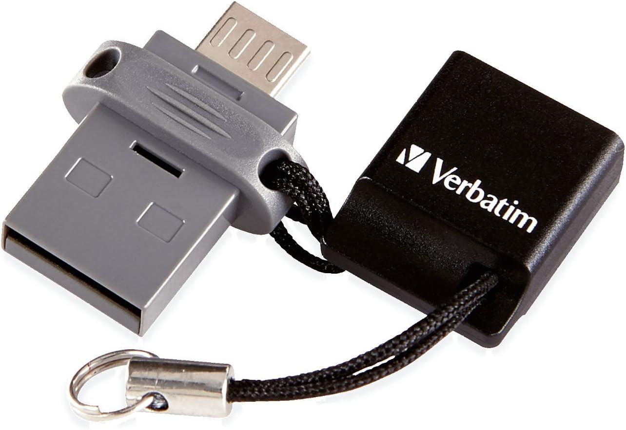 Verbatim 64GB Store 'n' Go Dual USB Flash Drive for OTG Devices