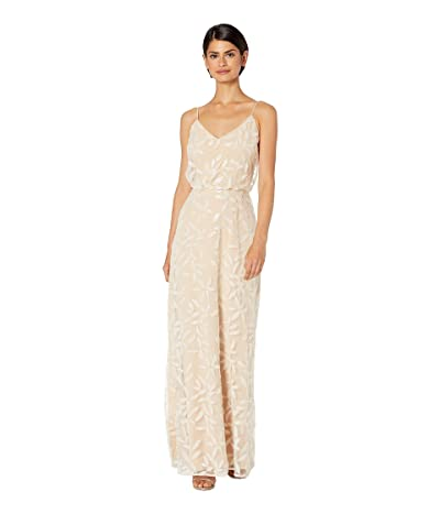 WAYF The Savannah Blouson Cami Gown (Pearl Petal Embroidery) Women