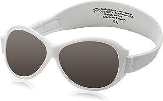 Baby Banz Retro Sunglasses,White,One Size