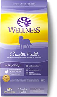 Wellness Complete Health Natural Dry Healthy Weight Dog Food, Chicken & Peas