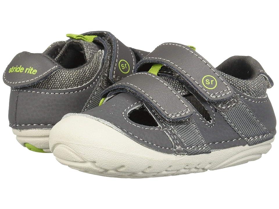 Stride Rite SM Elijah (Infant/Toddler) (Grey) Boys Shoes