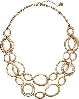 Link Double Layer Necklace 18""