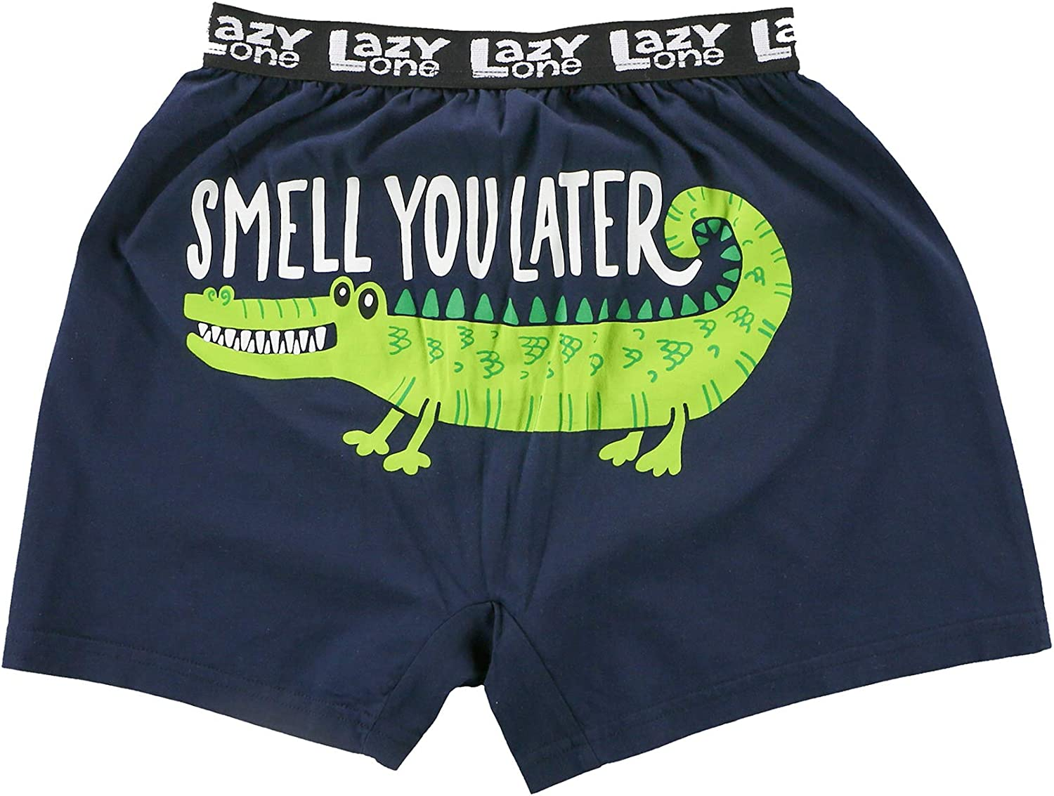 Novelty Boxer Shorts Lazy One Funny Boxers Humorous Underwear Gag Gifts for Men