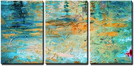 wall26 - Abstract Oil Paint Texture - Canvas Art Wall Decor - 16