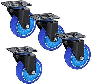 YJJT Zware zwenkwielen voor meubels, Vervangende wielen voor elektrische apparaten, Kasten, Banken, Machines, Logistiek, S...