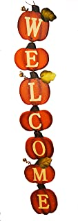 Changing Seasons Autumn Pumpkin Welcome Sign