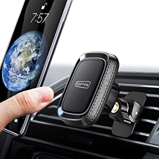 TORRAS Car Phone Mount,  [Magnetic Square] Anti-Shake Air Vent Cell Phone Holder Compatible with iPhone 11 Pro Max/Xs/XS Max /8 Plus/7/6,  Samsung Galaxy S10 Plus/S9+/ Note 10/Note 9 and All Smartphones