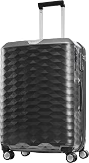 Samsonite 111637 Polygon Hard Side Spinner Suitcase, Dark Grey, 69 Centimeters