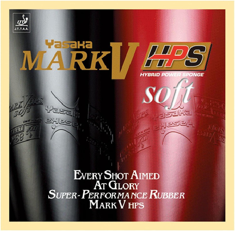 Yasaka Mark V HPS Soft colorBlack,ThicknessMax