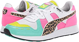 Puma White/Biscay Green/Knockout Pink