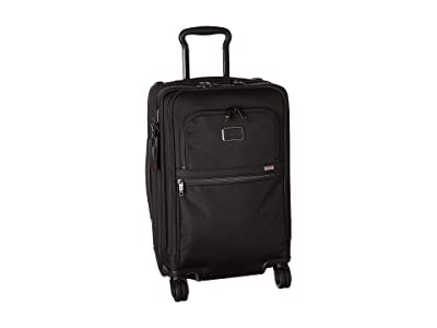 Tumi Alpha 3 International Office 4 Wheeled Carry-On (Black) Luggage