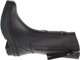Joules Women's Wellington Rain Boot, Black, 8 us