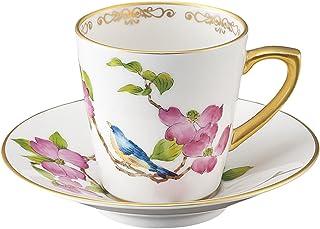 エムズスタイル NAKAYAMA 花鳥ムクゲ コーヒー碗皿 001-003-27C