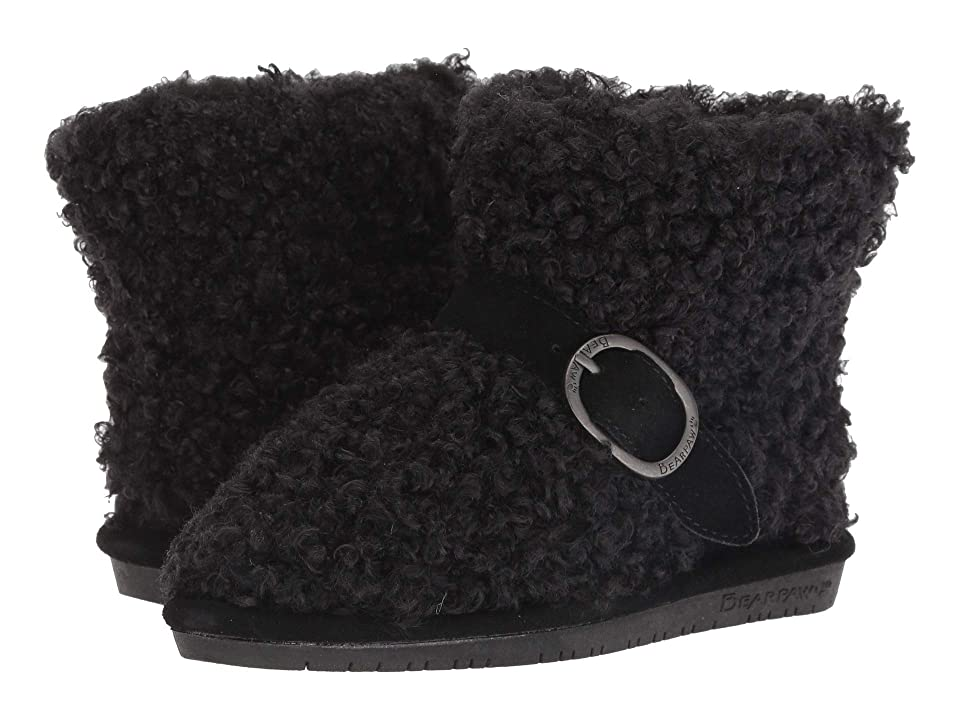 Bearpaw Kids Treasure (Little Kid/Big Kid) (Black) Girls Shoes
