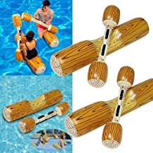 $28 » Floating Inflatable Pool Toys - Summer Outdoor Beach Pool Inflatable Double Beat Swim Log Stick Set - Suit for Outdoor Family Pool - 2 Sitting Sticks & 2 Hand Sticks - [Shipped from USA]