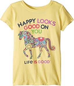 Happy Looks Good on You Crusher™ Tee (Little Kids/Big Kids)