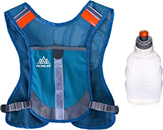 AONIJIE Lovtour Unisex Premium Reflective Vest for Running Cycling Clothes for Women Men Safety Gear with Reflective High Visibility for Outdoor Sport Cycling and Running or Marathon