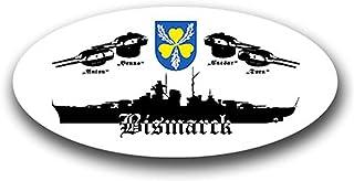 Suchergebnis Auf Für Schlachtschiff Bismarck Abzeichen Militär Auto Motorrad