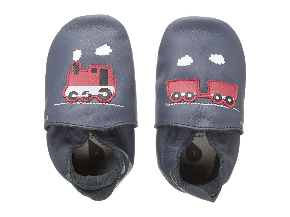 Bobux Kids Soft Sole Train Carriage (Infant) (Navy) Kid