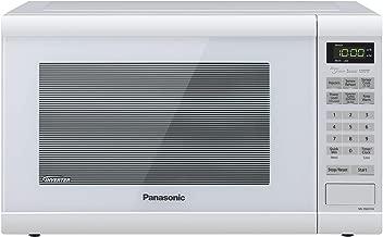 Panasonic Microwave Oven NN-SN651WAZ White Countertop with Inverter Technology and Genius Sensor, 1.2 Cu. Ft, 1200W (Renewed)
