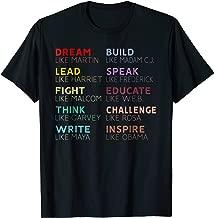 Inspirational Black History Leaders T-Shirt
