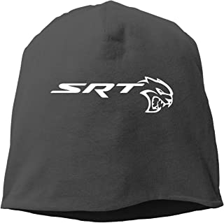 SRT Demon and Sportscat Hellcat Beanie Hats Winter Outdoor Fashion Slouchy Warm Caps for Mens&Womens