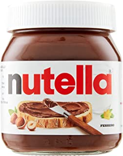 Nutella Hazelnut Spread with Cocoa (Labels may vary), 350g