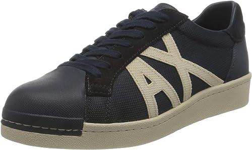 Armani exchange sneakers, scarpe da ginnastica uomo old school XUX076XV24600285