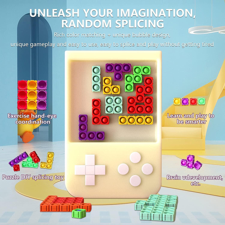 Push Pop Bubble Fidget Sensory Toy Stress 16Pec Silicone Relieve Sale Tucson Mall item