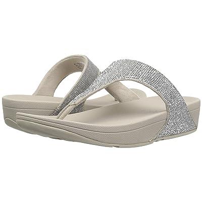 FitFlop Electratm Micro Toe Post (Silver) Women