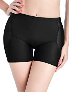 AIMILIA Women's Hip Butt Enhancer Pads Butt Lifter Shapewear Tummy Control Padded Seamless Panties Underwear Shorts