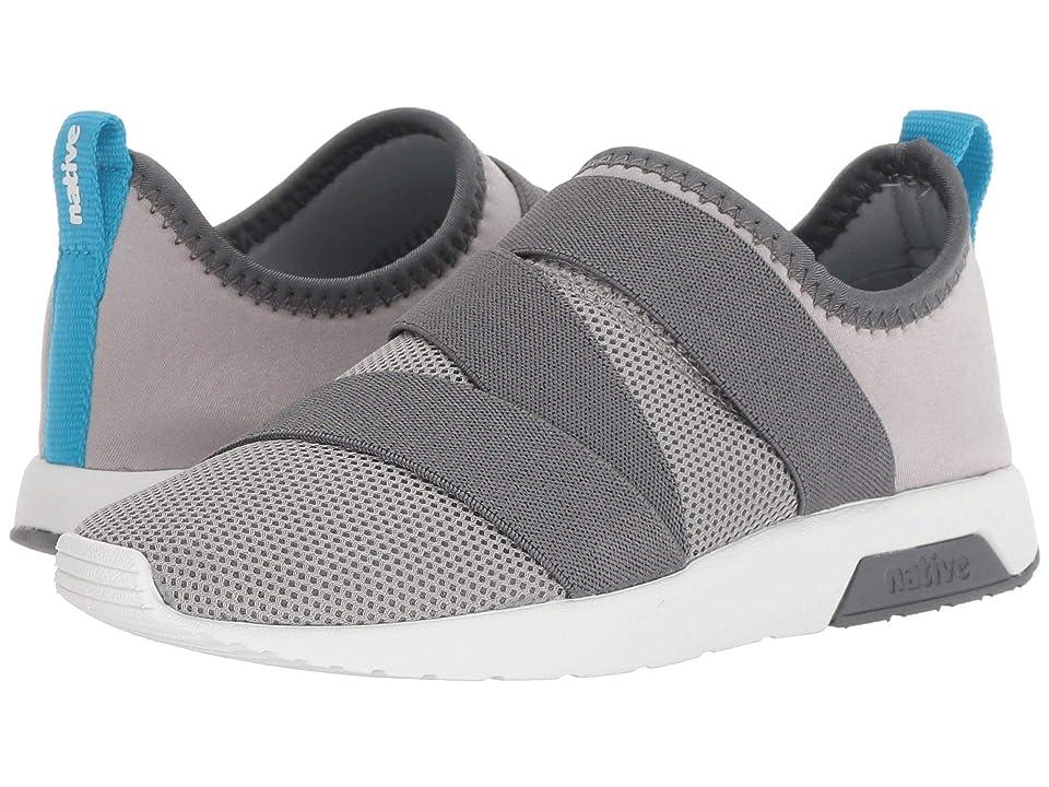 Native Kids Shoes Phoenix (Little Kid) (Pigeon Grey/Dublin Grey/Shell White) Kids Shoes