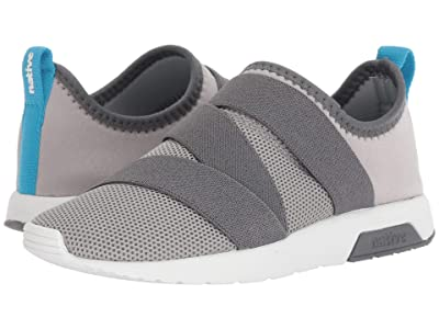 Native Kids Shoes Phoenix (Little Kid) (Pigeon Grey/Dublin Grey/Shell White) Kids Shoes