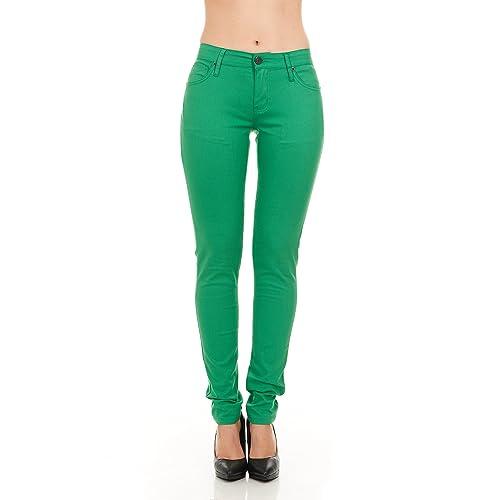 5a108fbcdf7ff7 Green Skinny Jeans: Amazon.com