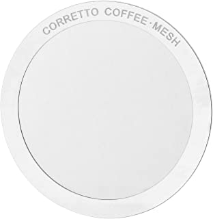 1 MESH Pro Reusable Filter for use in AeroPress Coffee Maker, Premium Stainless Steel, Brewing Guide Included & 100% Satisfaction Guarantee