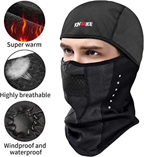 KINGBIKE Winter Ski Mask Balaclava Waterproof Windproof...