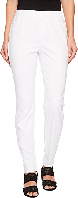 Stretch Organic Cotton Denim Skinny Pants