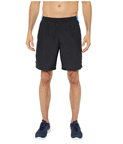 Nike Challenger Shorts 9 BF (Black/Pacific Blue/Reflective Silver) Men