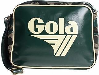 Gola, Damen Umhängetasche Classics Original Redford Quantum Umhängetasche 36 cm, Khaki/Ecru