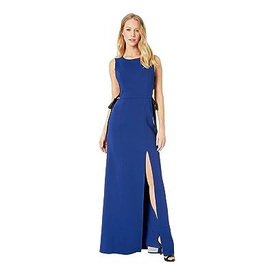 BCBGMAXAZRIA Daulphine Bow-Tie Gown (Deep Royal Blue) Women