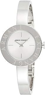 Armani Exchange Wrist Watch For Women, AX5904, Silver