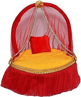 Bhuvika laddu Gopal Lit Gopal Singhasan/laddu Gopal ji Asan/laddu Gopal ji Lit pour 4 à 6 no. kanha ji