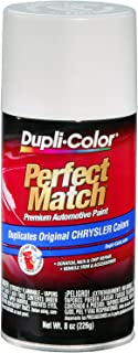 Dupli-Color BCC0362 Bright White E7 Chrysler Perfect Match Automotive Paint - Aerosol, 8. Fluid_Ounces